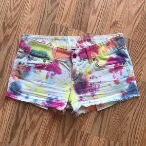 CARMAR   Tie-dye/Water Color Shorts